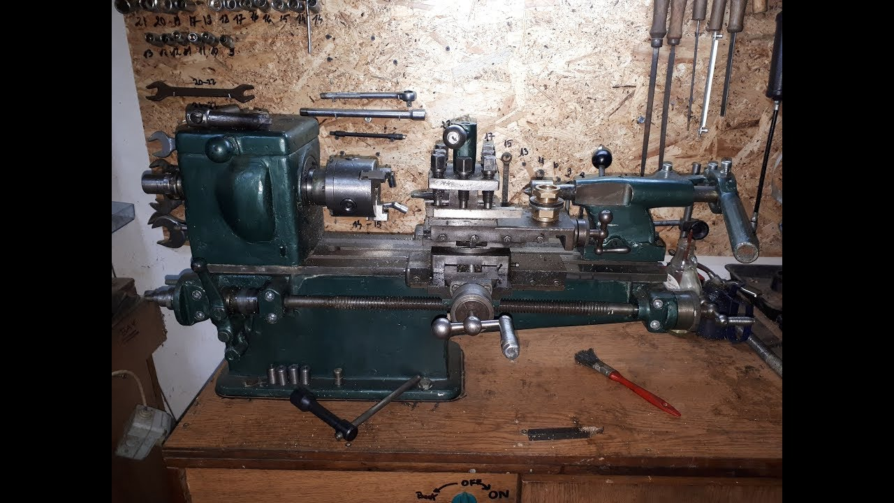 Strung De Banc  Mini Lathe  Diy Parts Made On Lathe