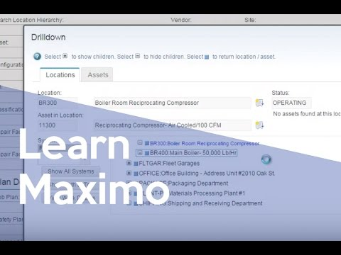 Maximo 7 6 Navigation for the Maximo 4 User