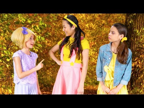 Ellie Sparkles Gets Trapped In Kiddyzuzaa Land! ✨ Princesses In Real Life | Kiddyzuzaa