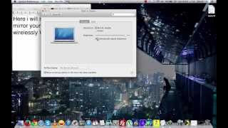 How Mirror Macbook Screen Without Apple Tv Wirelessly