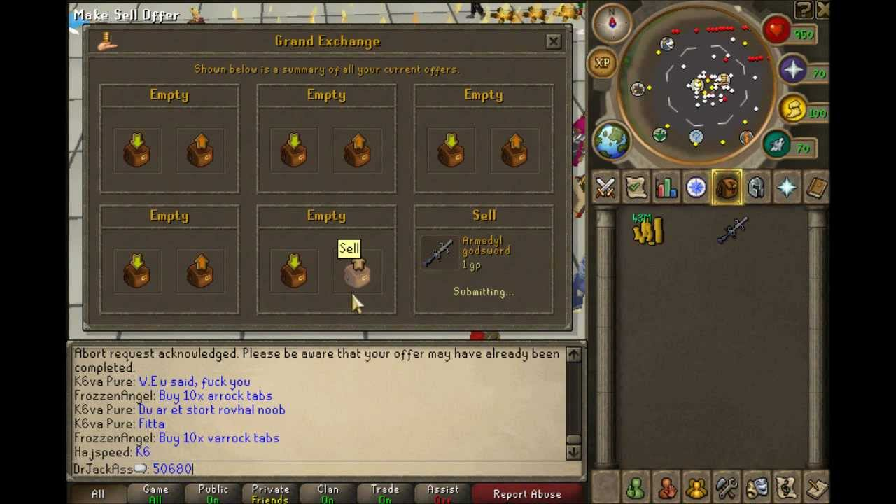 Runescape Selling Ags For 1 Gp ( Armadyl Godsword ) - Runescape Selling Ags For 1 Gp ( Armadyl Godsword )