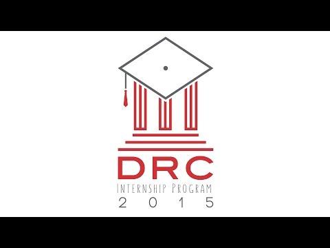 The DRC Internship - Summer 2015