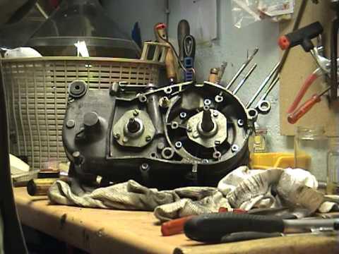 motor gespalten kr51 1 youtube