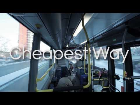 The cheapest way how to get from Stockholm's Arlanda Airport to City Centre