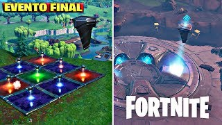 CAE the *Fourth* RUNA in BALSA BUTTON - VOLVOLE ERUPTION MORE NEAR - FINAL FORTNITE EVENT