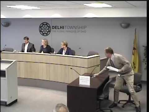 06-29-2016 Delhi Township Board of Trustees Meeting