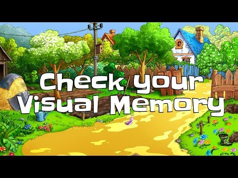 Memory Games // check your visual memory