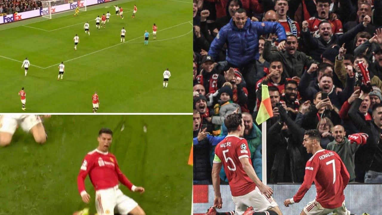 Download Ronaldo goal vs Atalanta sends fans crazy 😲🔥   Man United 3-2 Atalanta highlights