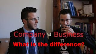 Company VS Business - Differences and similarities 2018