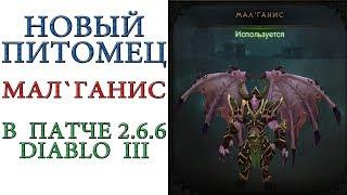 Diablo 3: Новый пет в игре Мал`ганис в патче 2.6.6