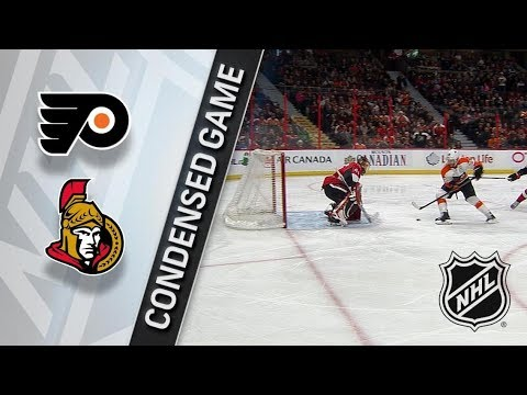 Philadelphia Flyers vs Ottawa Senators – Feb. 24, 2018 | Game Highlights | NHL 2017/18. Обзор