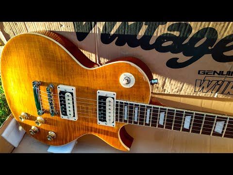 Vintage Les Paul V100 AFD Test Drive – Slow Blues (Slash's Guitar)