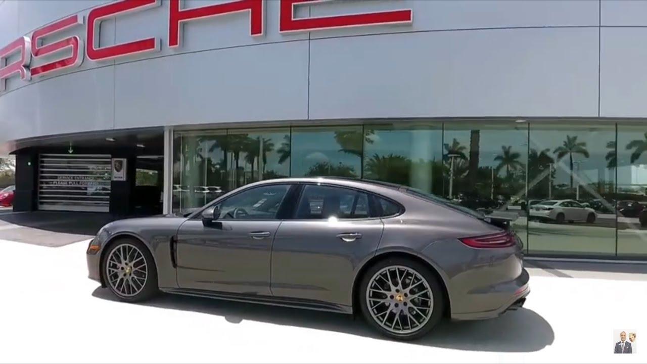 2017 Agate Grey Porsche Panamera 4S 440 hp @ Porsche West ...