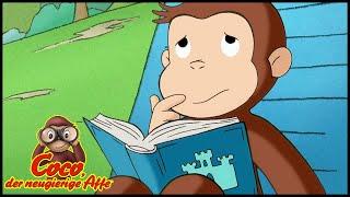 Coco der Neugierige Affe Deutsch 🐵 Der Tag am Strand 🐵Ganze Folgen🐵Cartoons für Kinder