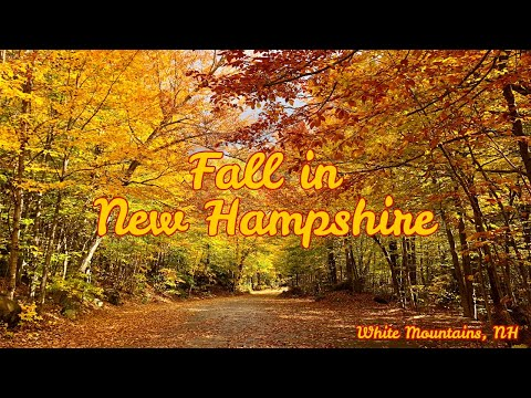 White Mountains New Hampshire Fall Foliage