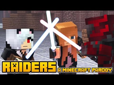"""Minecraft Song and Videos """"RAIDERS"""" - MINECRAFT PARODY OF CLOSER BY THE CHAINSMOKERS (Lyrics)"""