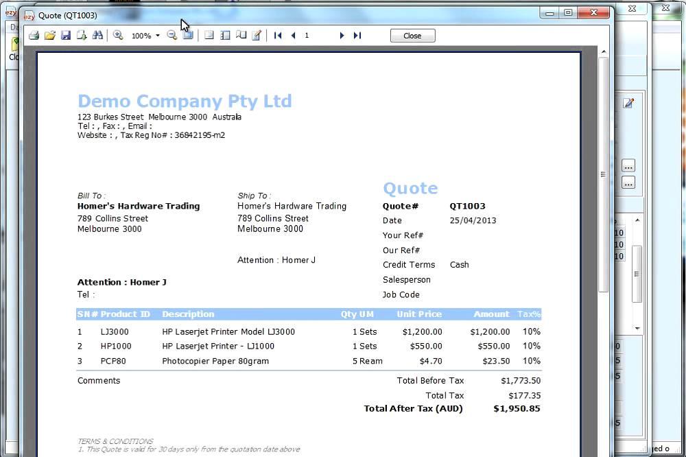 Ezy Invoice 10 License Code