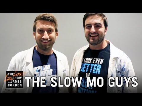 The Slow Mo Guys' Late Late Show Promo