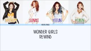 Wonder Girls - Rewind [Eng/Rom/Han] Picture + Color Coded HD