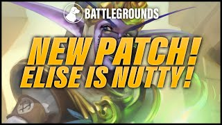 New Patch! Elise is Nutty Now! | Dogdog Hearthstone Battlegrounds