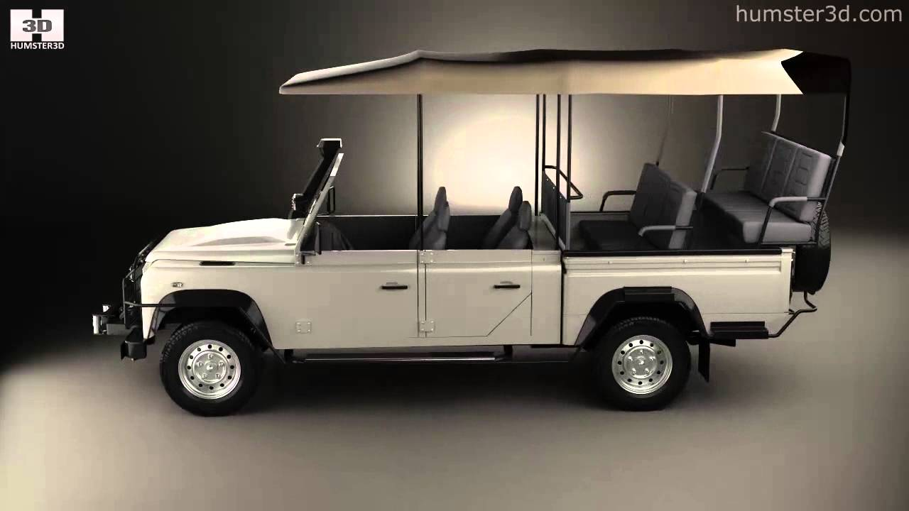 Land Rover Defender Safari Game Viewing 1990 By 3d Model Store