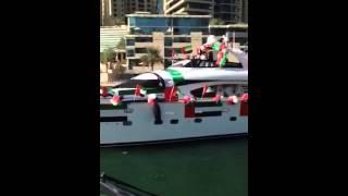 42nd UAE National Day Boat Parade Dubai  winner- Xclusive Yachts