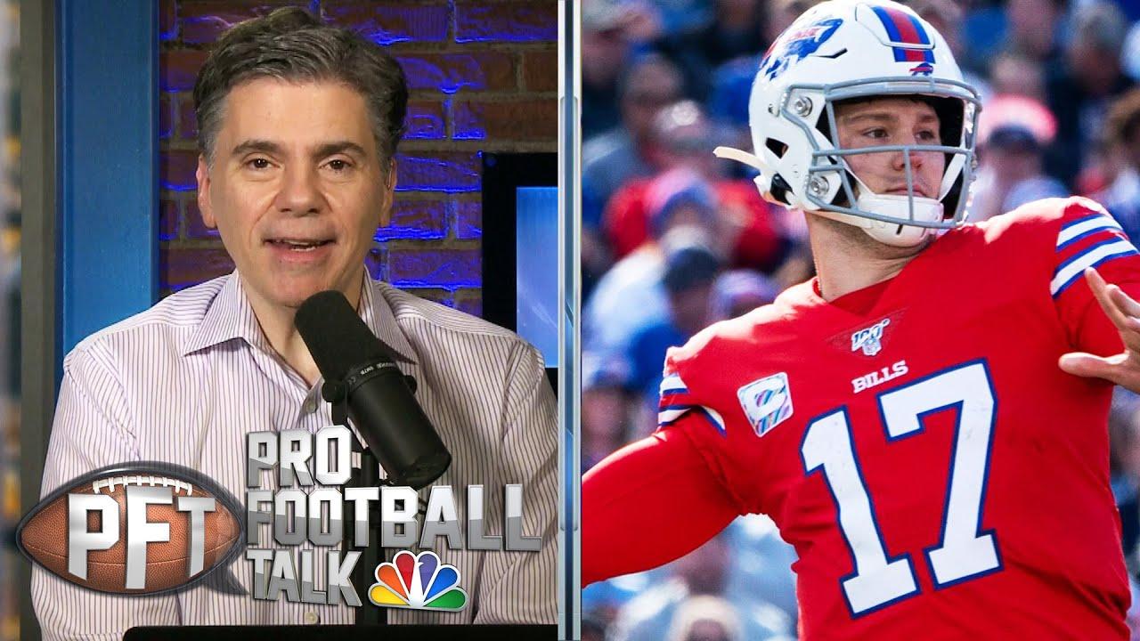 Josh Allen a cut above Baker Mayfield, Sam Darnold | Pro Football Talk | NBC Sports