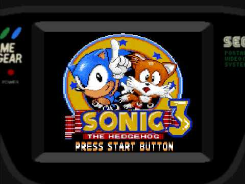 Sonic The Hedgehog 3 Shitty Fake Game Gear Msx Edition Youtube