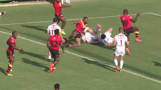 HIGHLIGHTS PNG Kumuls v England Knights Game 2 Port Moresby