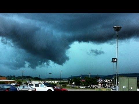 Tornado in New York; Hail in Ohio: Caught on Tape