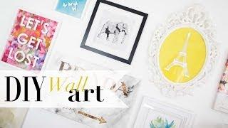 Diy Tumblr Gallery Wall Art Pinterest Inspired   Ann Le