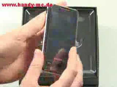 Samsung SGH i900 Omnia Erster Eindruck