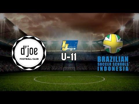 D'Joe Football Club vs Brazillian Soccer [Indonesia Junior League 2019] [U-11] 14-4-2019