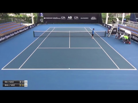 Australian Open 2018 Asia-Pacific Wildcard Play-off | Court 5 | Day 2