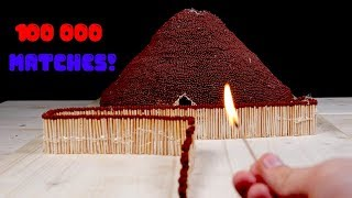 Match Chain Reaction Amazing Fire Domino VOLCANO ERUPTION thumbnail