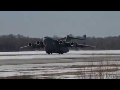 C-17 Takeoff at Griffiss Intl