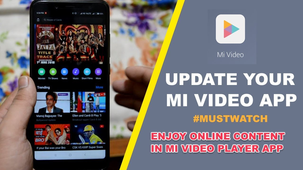 How to Update Latest Mi Video Player App on All Xiaomi Devices | Technical  Vids - Hindi