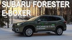 KOEAJO: Subaru Forester e-Boxer - Subarun säästö-Boxer