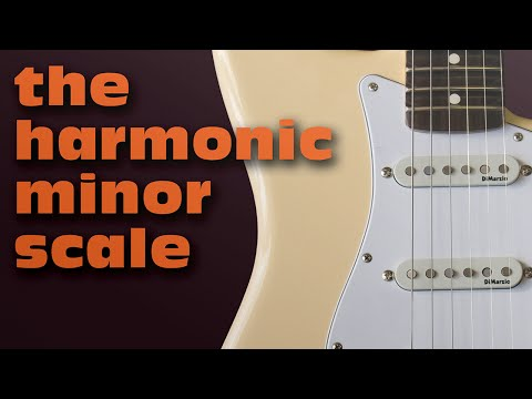 The Harmonic Minor Scale | Guitar Lesson