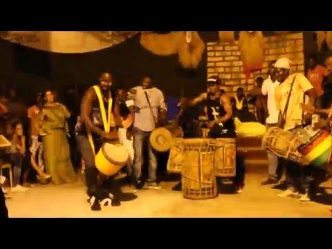 Conakry, Guinea- Dununba after the Spectacle de Merveilles de Guinea