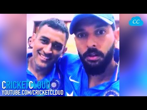 Thumbnail: Yuvi to Dhoni - Now you're not the Captain, So Are u....?