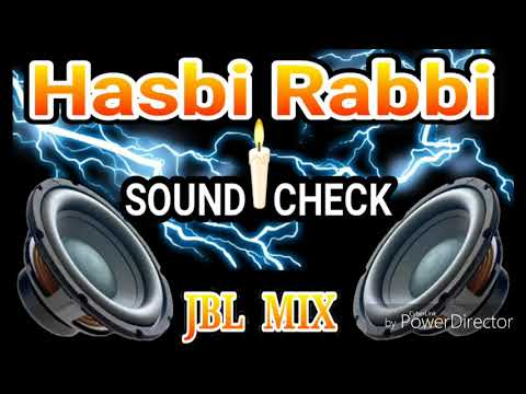 Hasbi Rabbi Quwwali Dj Sound Check Mix