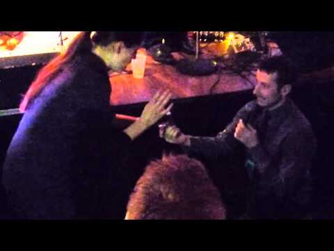 Surprise Marriage Proposal by Joe Ferguson @ Clydes Chevy Chase Dec.21 2012