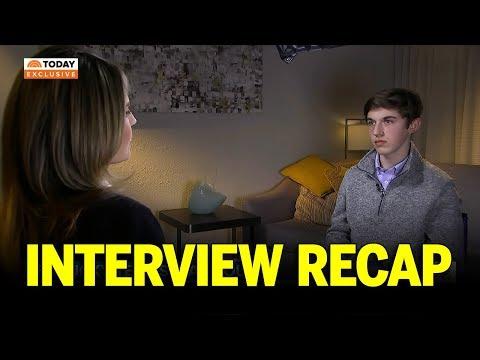 Nick Sandmann Interview with NBC Today Show Recap: No Apology Necessary !