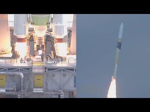 H-IIA F40 launches GOSAT-2 (IBUKI-2) and KhalifaSat