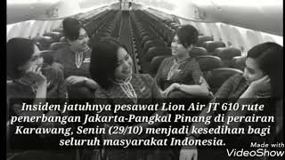 Download Lagu Sedih - KISAH 5 PRAMUGARI LION AIR JT610 Jatuh