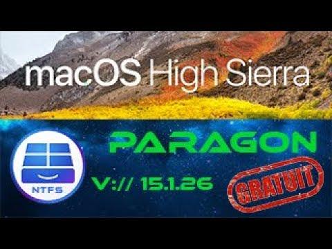 paragon ntfs 15 mac os high sierra
