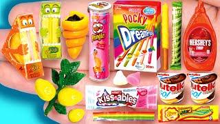 15 EASY REALISTIC DIY MINIATURE BARBIE IDEAS ~ Mini Nutella & Go , Kisses, Dreampocky and more!