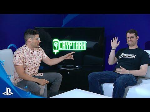 Cryptark - E3 2016 LiveCast | PS4