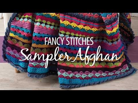 Fancy Stitches Sampler Afghan Crochetalong Free Preview